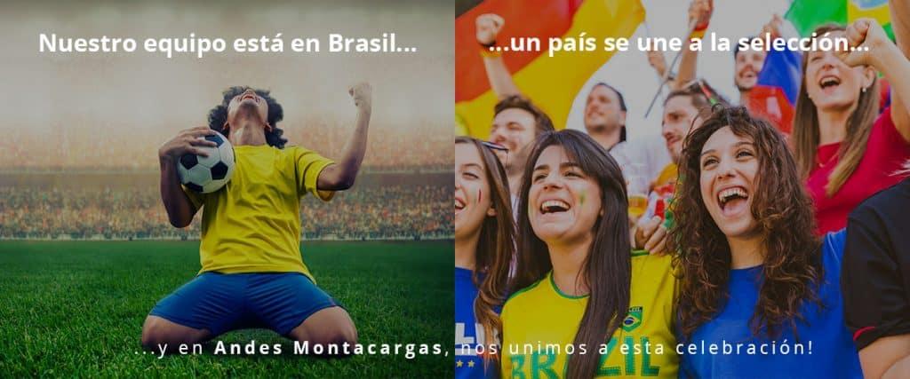 NUESTRO EQUIPO ESTÁ EN BRASIL